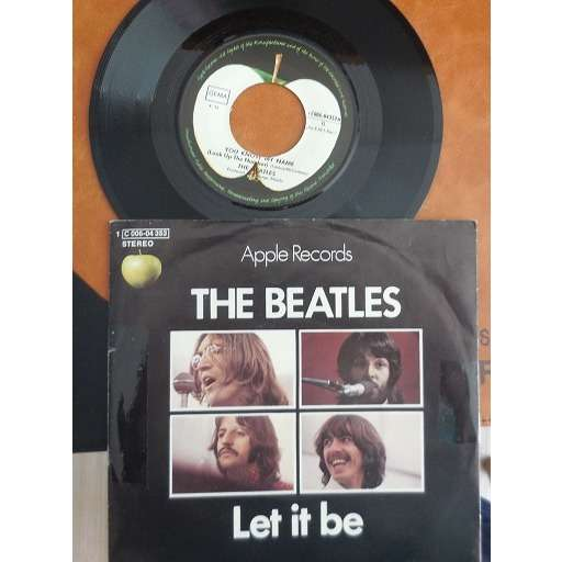 the beatles Let It Be allemagne