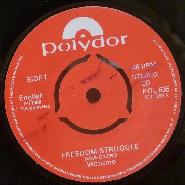 WATUME Freedom struggle / Dub