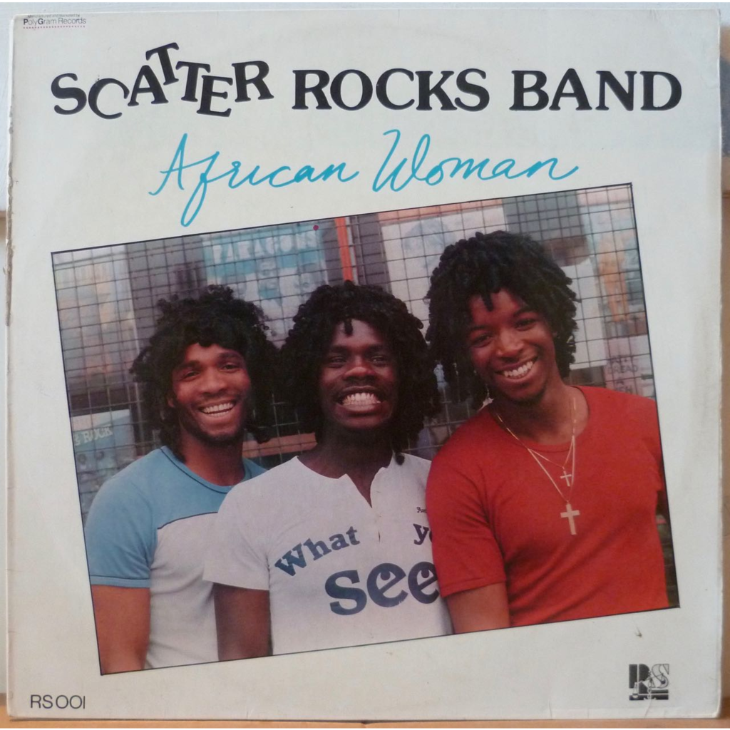 SCATTER ROCKS BAND African woman