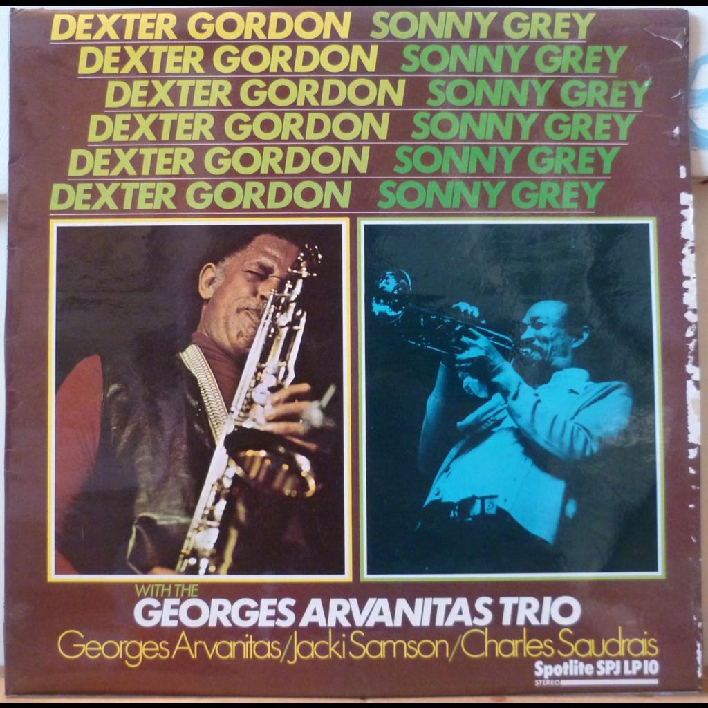 DEXTER GORDON SONNY GREY & GEORGES ARVANITAS TRIO S/T - Caloon blues