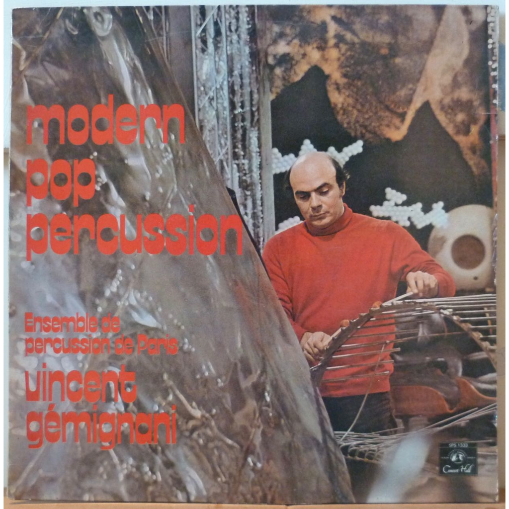 VINCENT GEMIGNANI Modern pop percussion