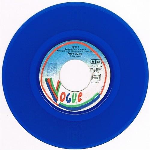 SPACE JUST BLUE / SECRET DREAMS ( vinyle bleu )
