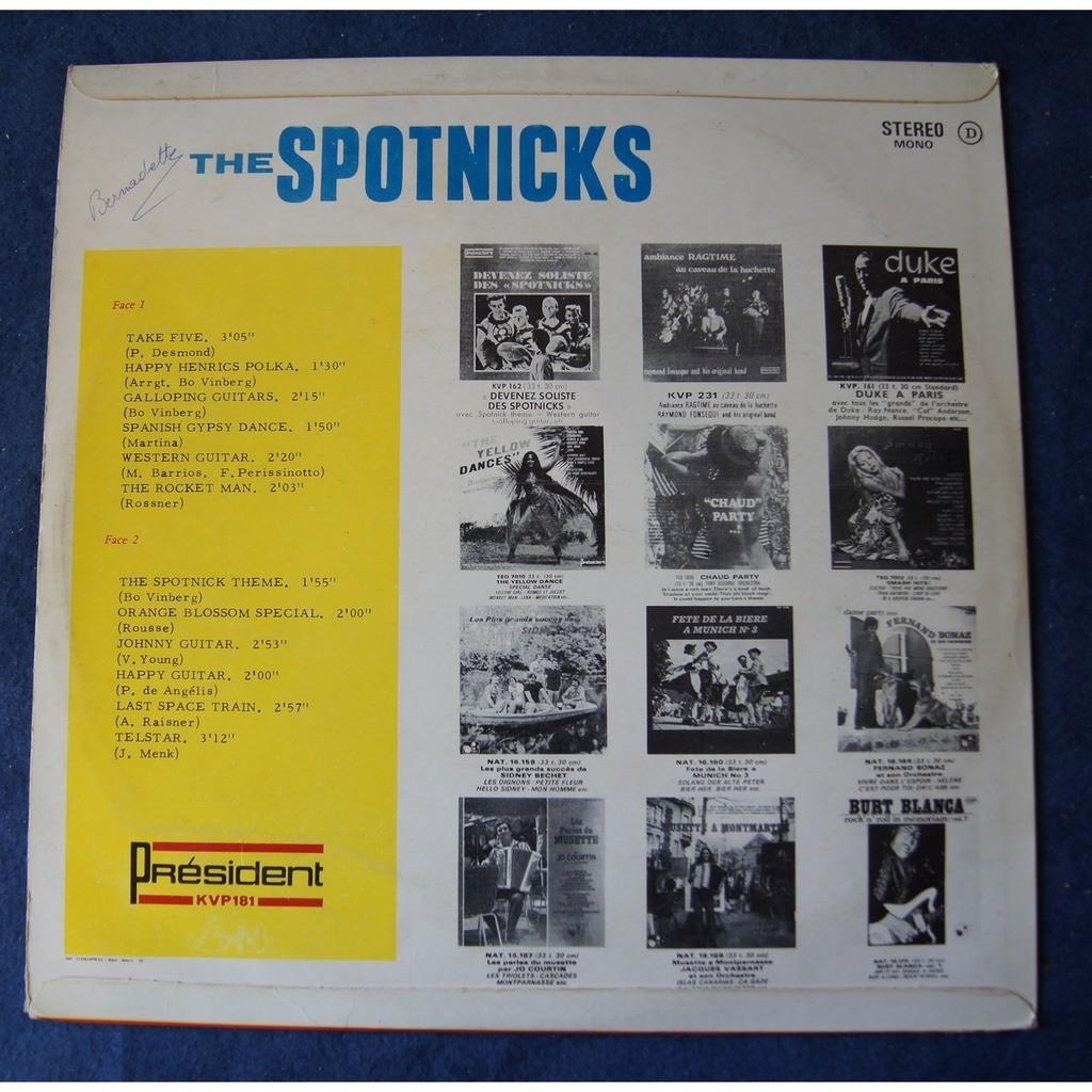 spotnicks THE SPOTNICKS