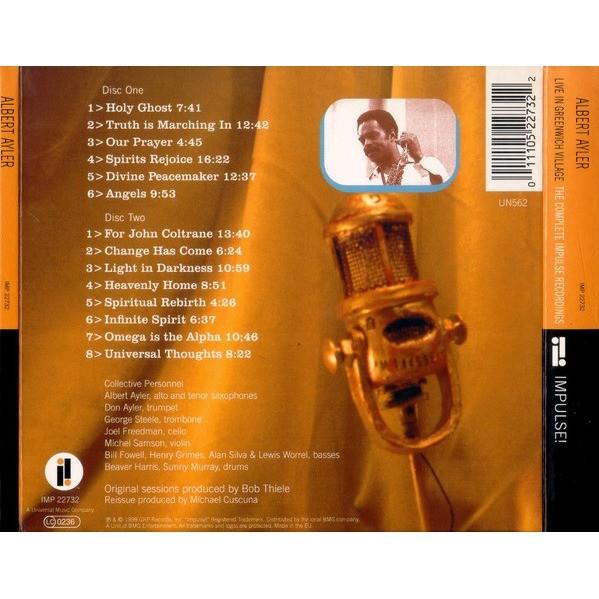 Albert Ayler Live In Greenwich Village (The Complete Impulse Recordings)