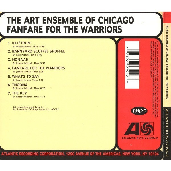 The Art Ensemble Of Chicago Fanfare For The Warriors