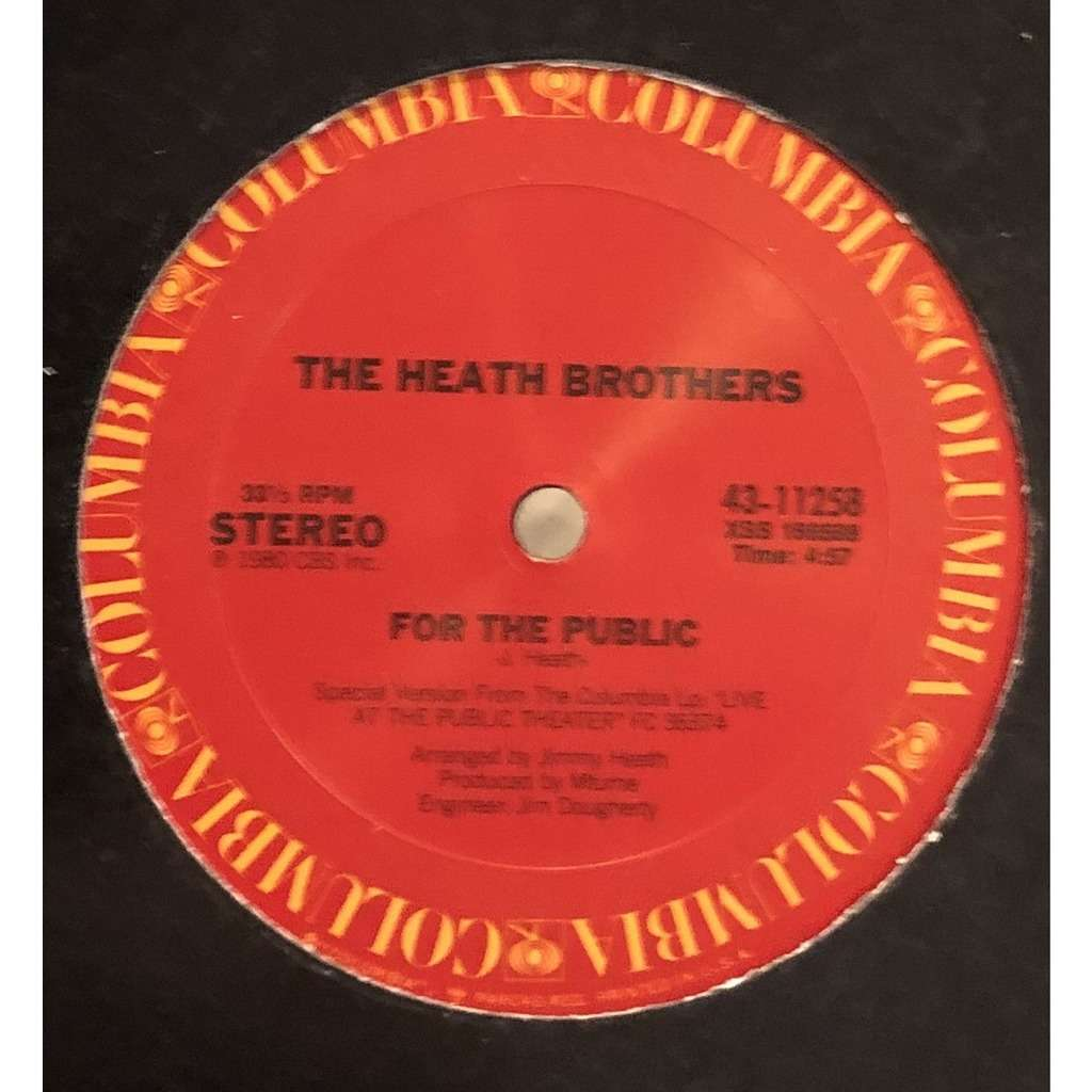 HEATH BROTHERS for the public