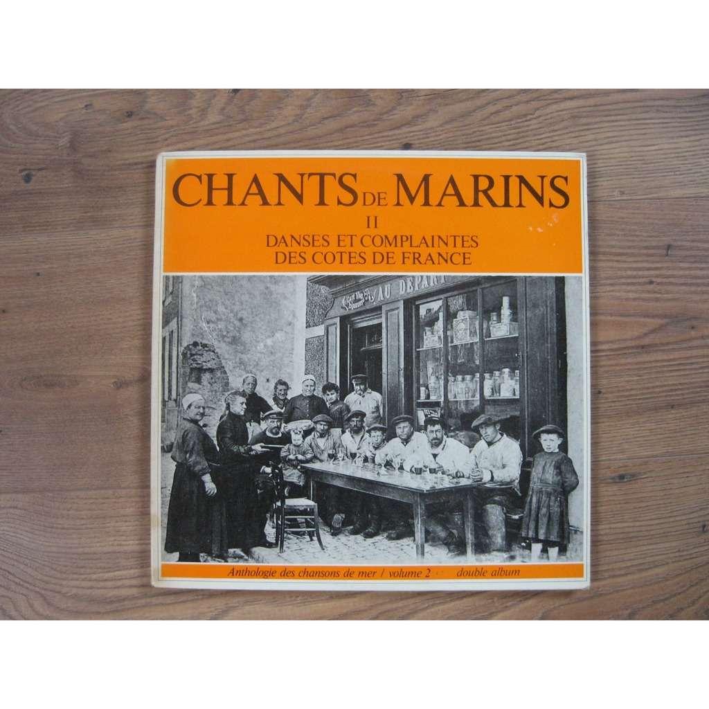 chants de marins anthologie des chansons de mer - vol 2