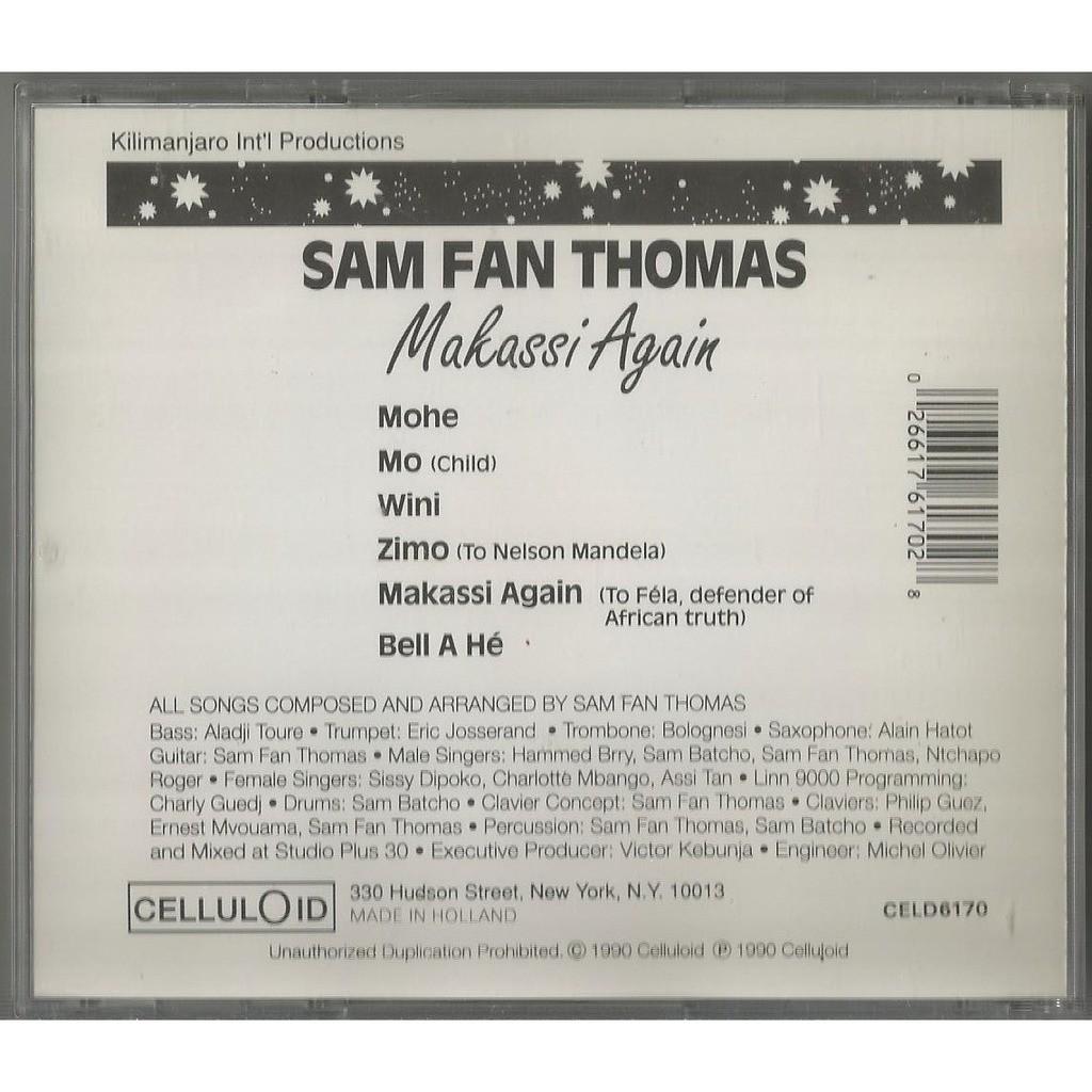 Sam Fan Thomas Makassi Again