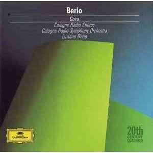 Luciano Berio Cologne Radio Symphony Orchestra, Cologne Radio Chorus