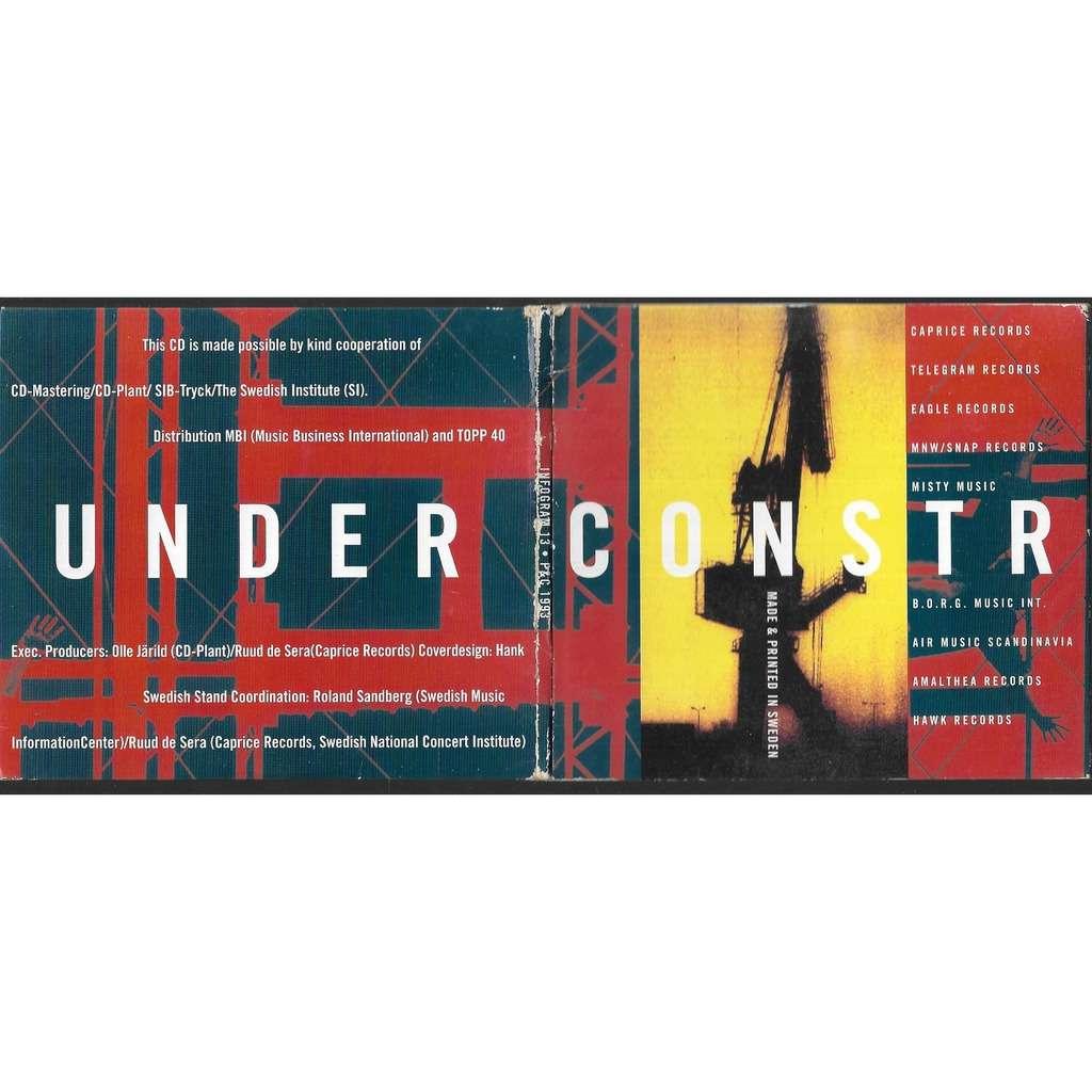 compilation . divers . various artists underconstruction sweden at midem 1993
