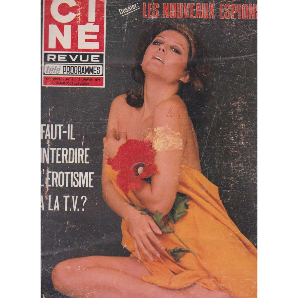 divers artistes - various artist ciné revue n° 1 3 janvier 1974