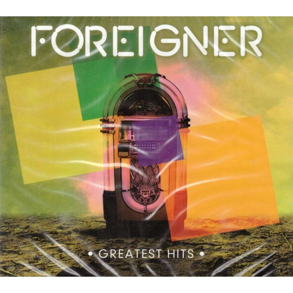 Foreigner Greatest Hits 2CD New Sealed