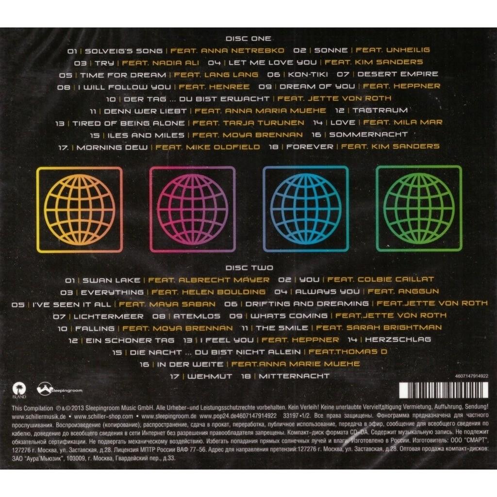 Schiller Greatest Hits 2CD New Sealed