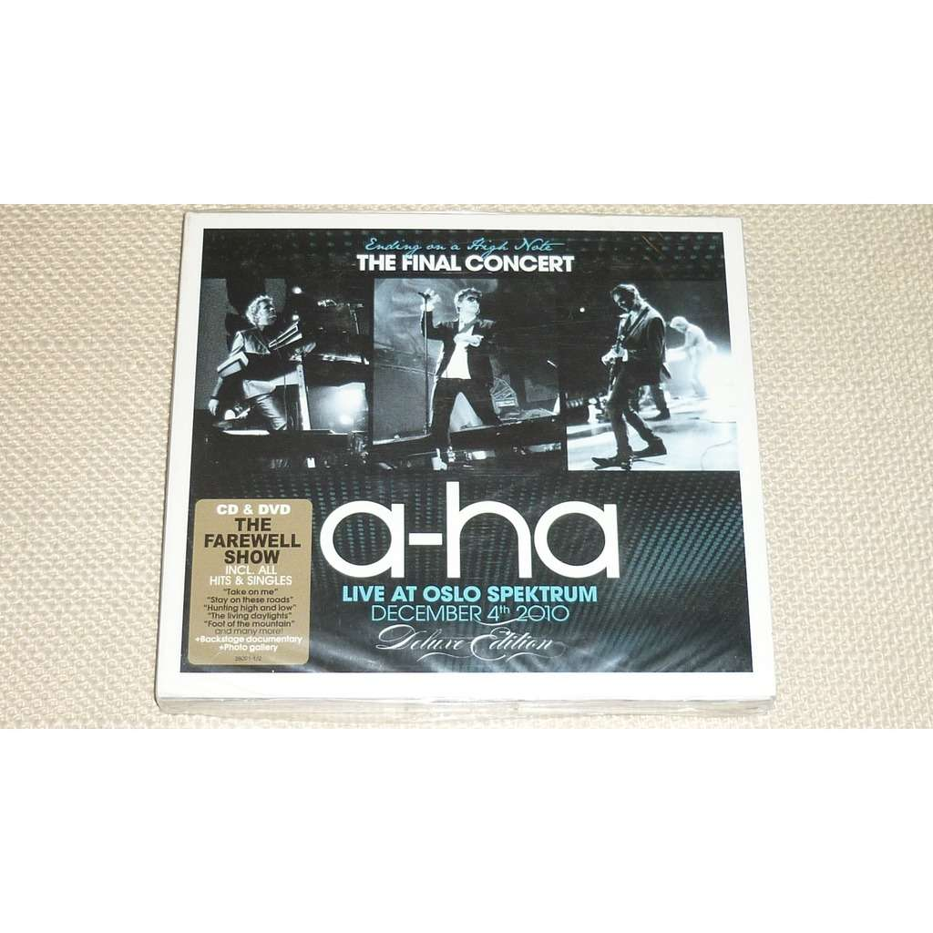a-ha a-ha - Ending On A High Note - The Final Concert (Deluxe Edition) CD+DVD