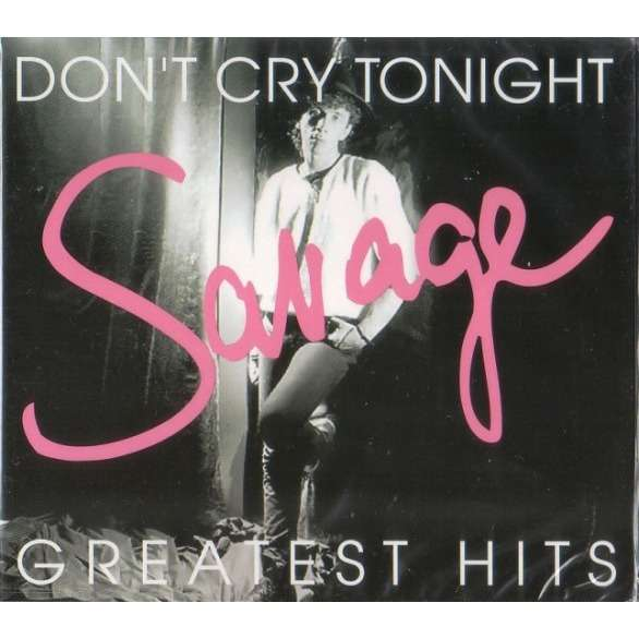 Savage Don`t Cry Tonight ( Greatest Hits ) 2CD Digipak