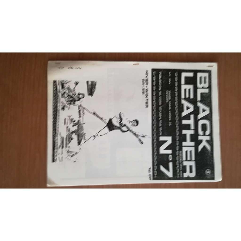 Fanzine BLACK LEATHER N°7 fan club Vince Taylor