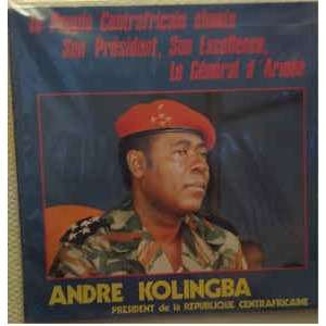 Malao Hennecy Le Peuple Centrafricain Chante Son Président, Son Excellence, Le Général D'Armée Andre Kolingba