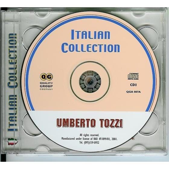 Umberto Tozzi Italian Collection 2CD