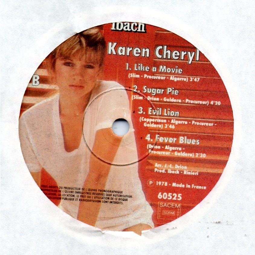 karen cheryl Sweet melody