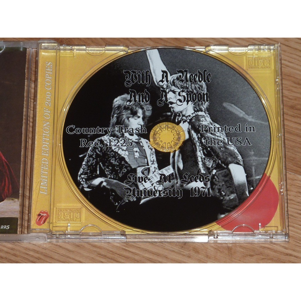 Rolling Stones With A Needle And A Spoon CD