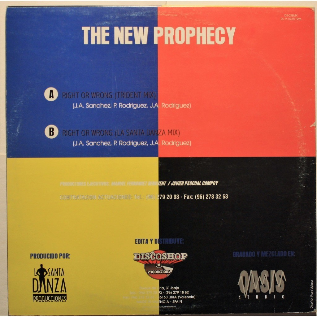 The New prophecy Right or wrong