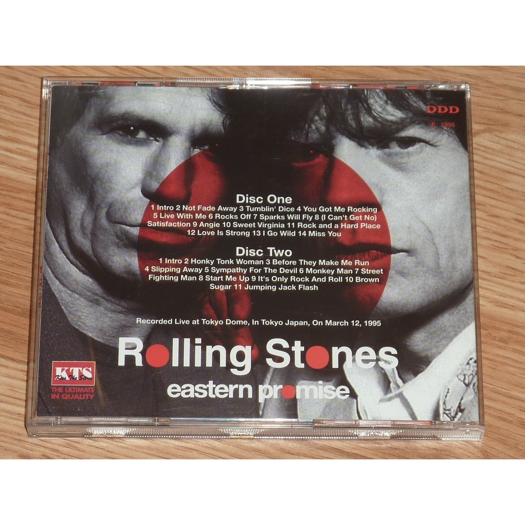 ROLLING STONES EASTERN PROMISE 2CD