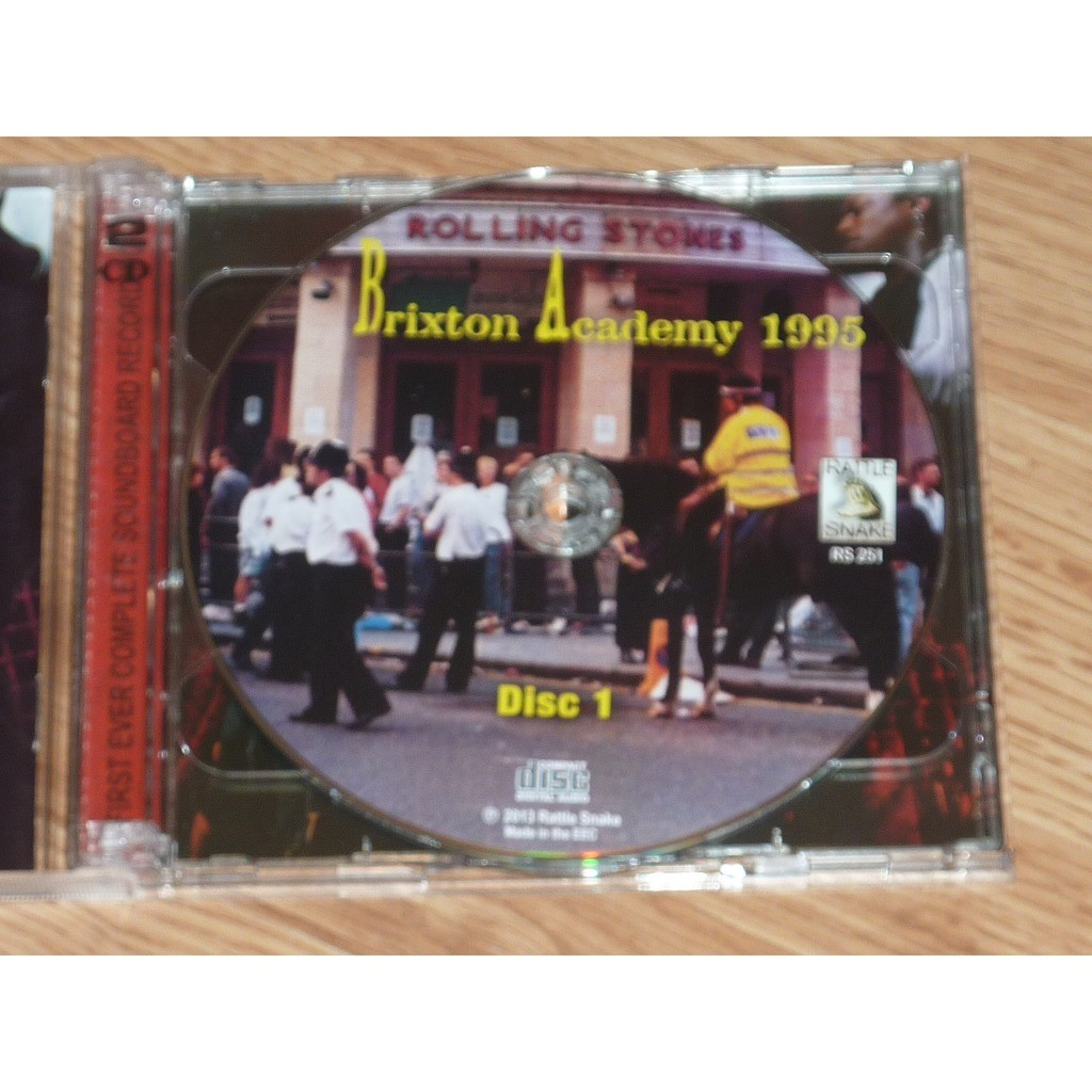 ROLLING STONES BRIXTON ACADEMY 1995 (2CD)