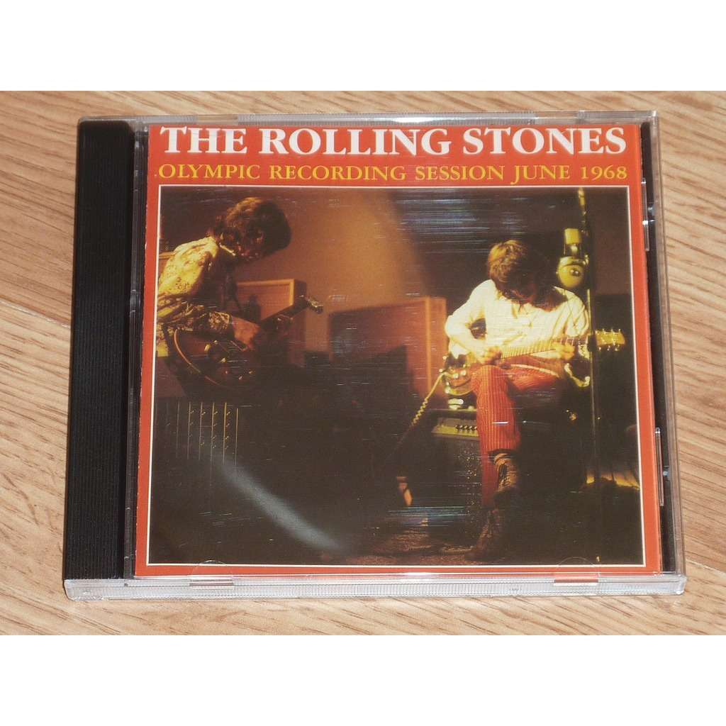 ROLLING STONES OLYMPIC RECORDING SESSIONS 1968 CD