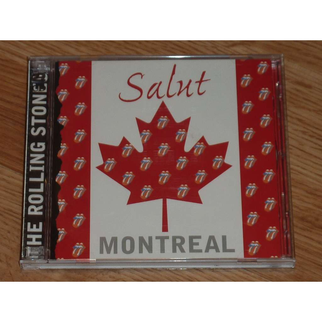 ROLLING STONES SALUT MONTREAL 2CD