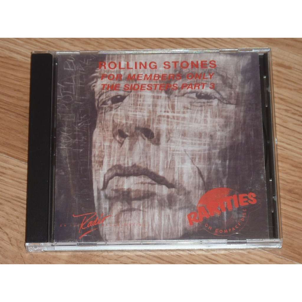 ROLLING STONES FOR MEMBERS ONLY: THE SIDESTEPS PART 3 CD