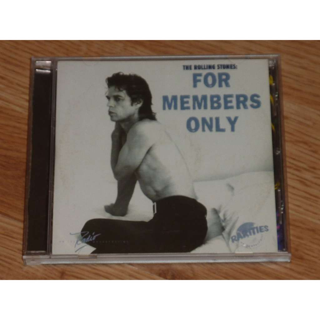 ROLLING STONES FOR MEMBERS ONLY CD