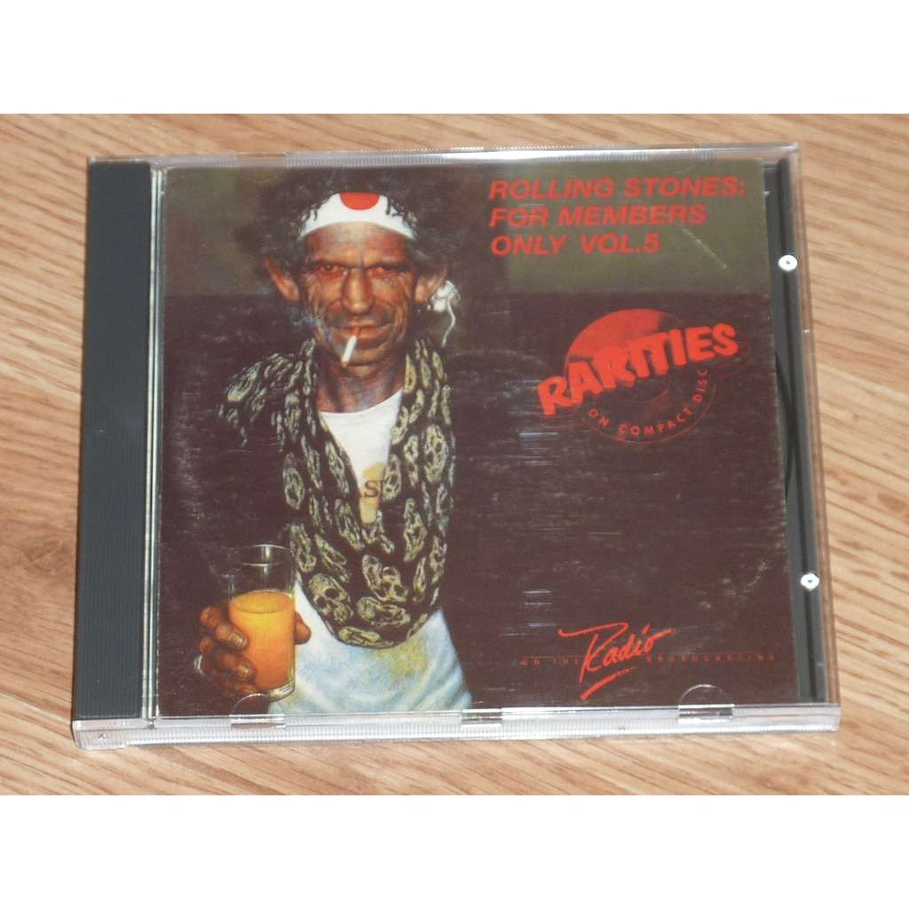 ROLLING STONES FOR MEMBERS ONLY VOL. 5 CD
