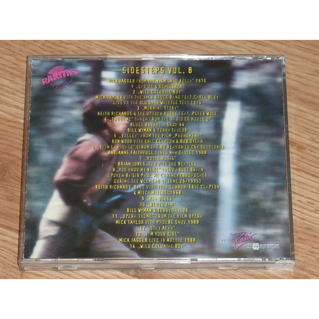ROLLING STONES FOR MEMBERS ONLY: THE SIDESTEPS VOL. 8 CD