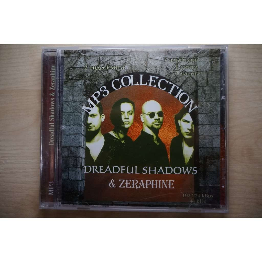 Dreadful Shadows & Zeraphine MP3 Collection (7 albums, 1 single, 2 music videos)