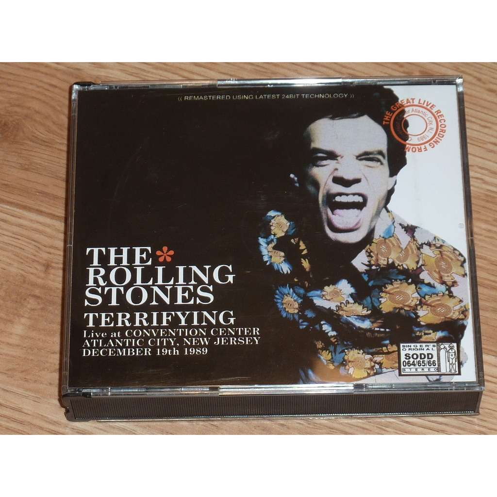 ROLLING STONES TERRIFYING 3CD