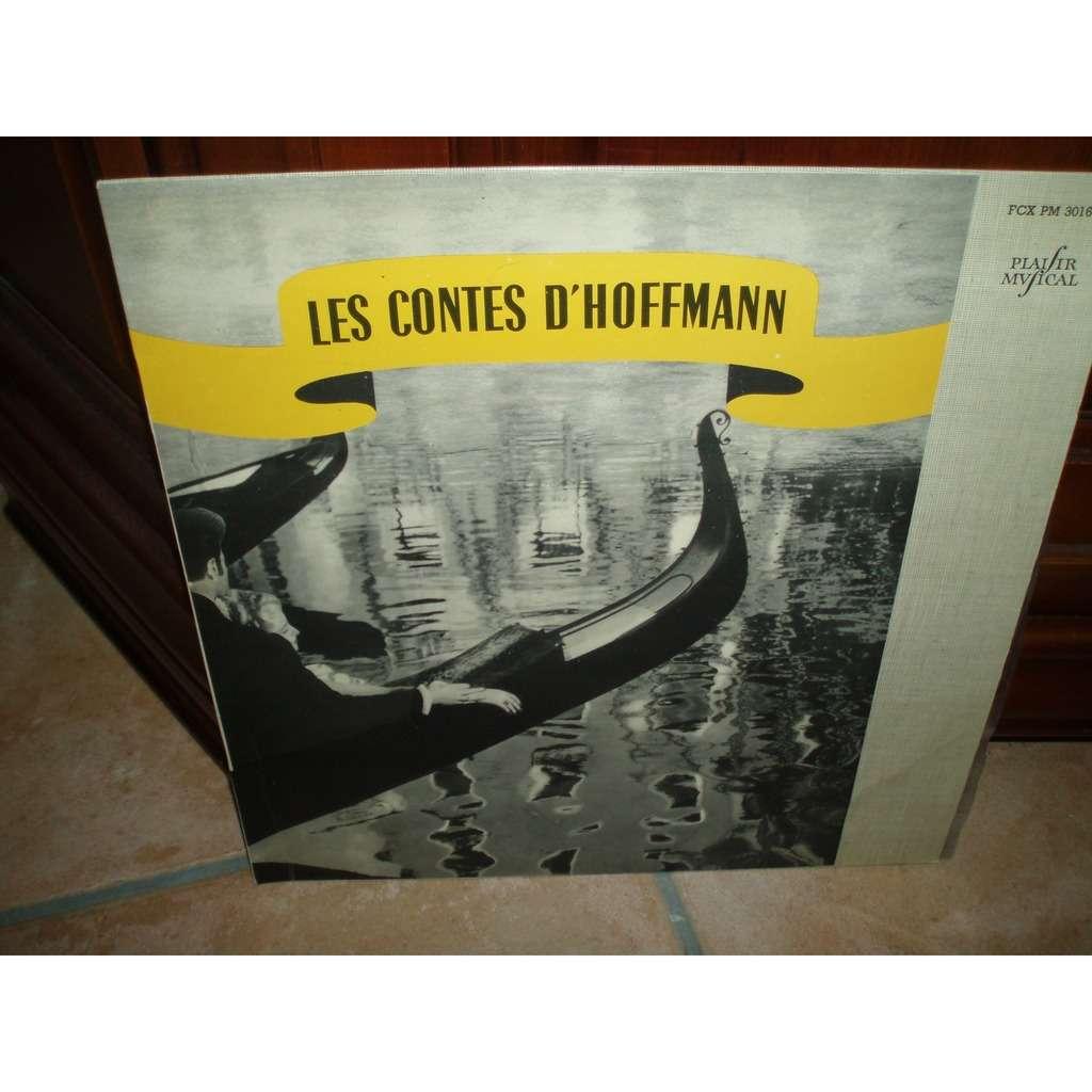 ANDRE CLUYTENS LES CONTES D'HOFFMANN ( avec languette )