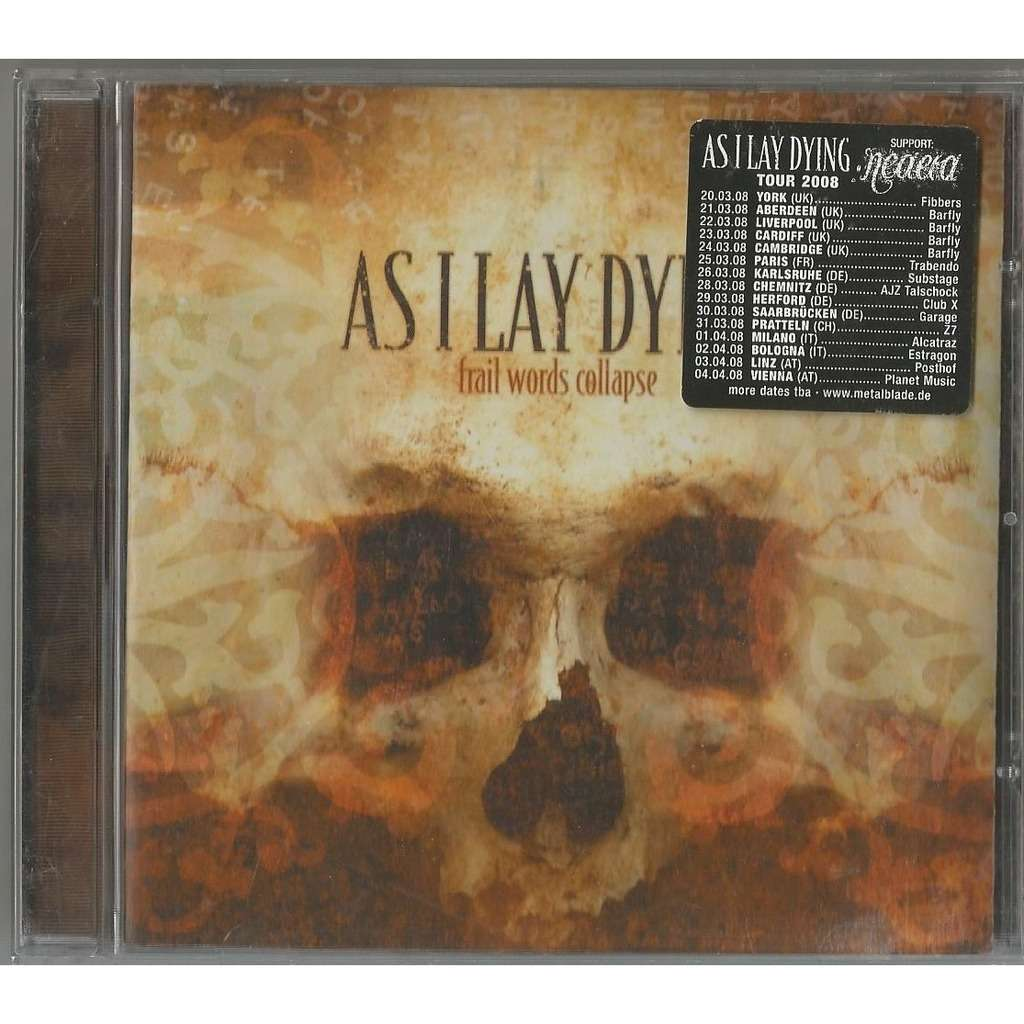 As I Lay Dying Frail Words Collapse (Metalcore)