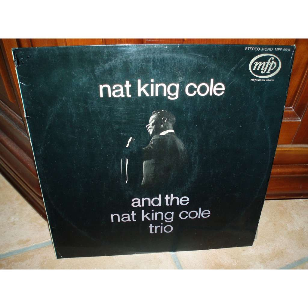 NAT KING COLE AND THE NAT KING COLE TRIO (avec languette)