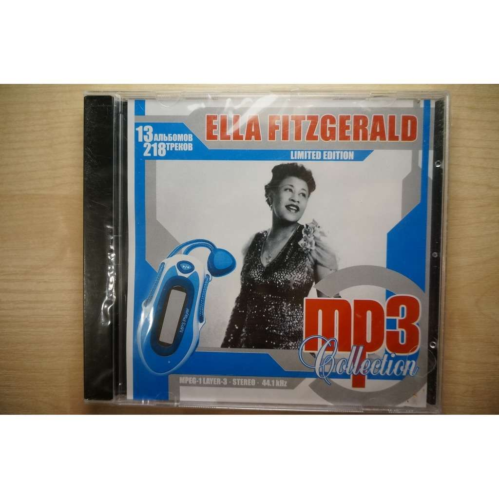 Ella Fitzgerald MP3 Collection - Limited Edition (13 albums, 218 tracks)