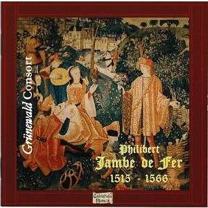 Philibert Jambe de Fer Oeuvres de Musique Sacrée