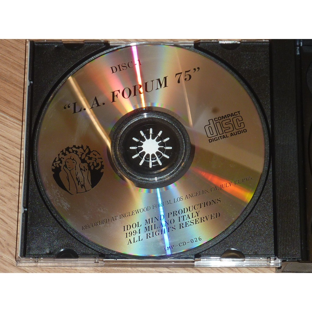 ROLLING STONES L.A. FORUM 1975 (2CD)