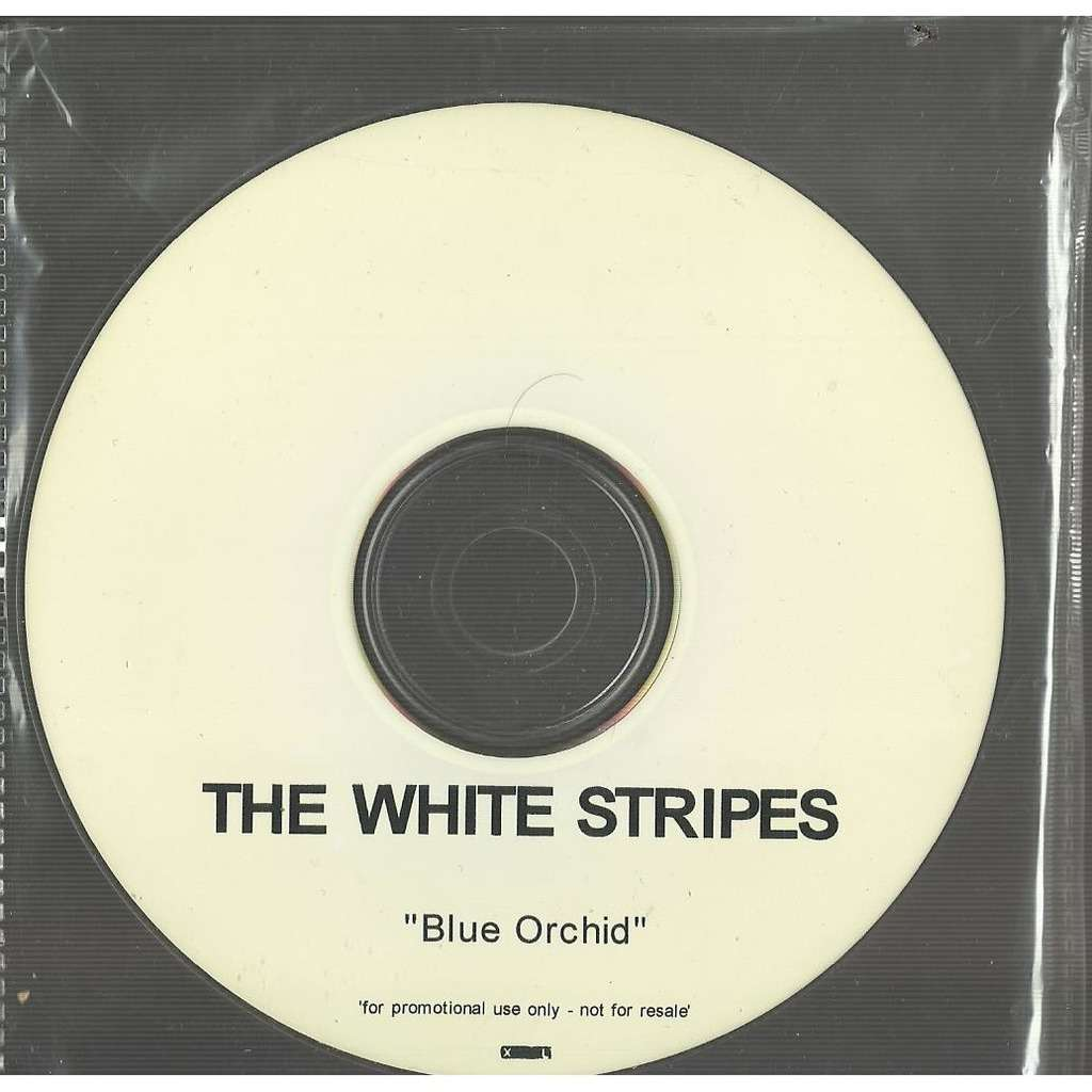 white stripes blue orchid promo