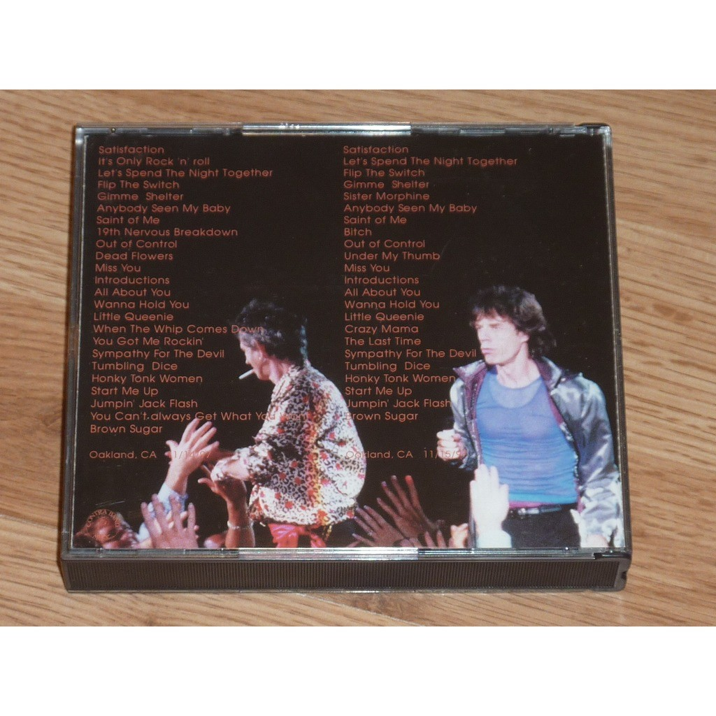 ROLLING STONES OAKLAND 1ST & 2ND DAY (4CD)