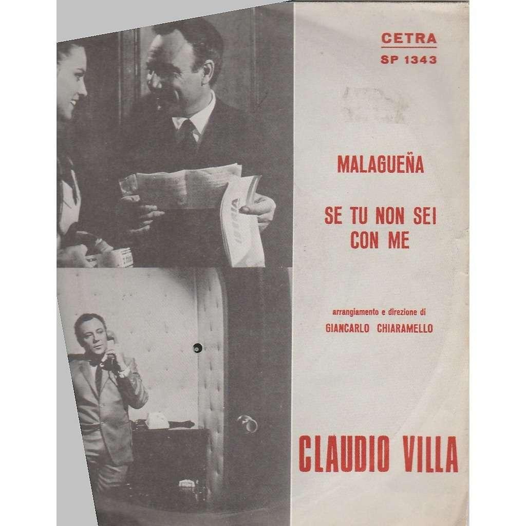 Claudio Villa Malagueña /Se tu non sei come me