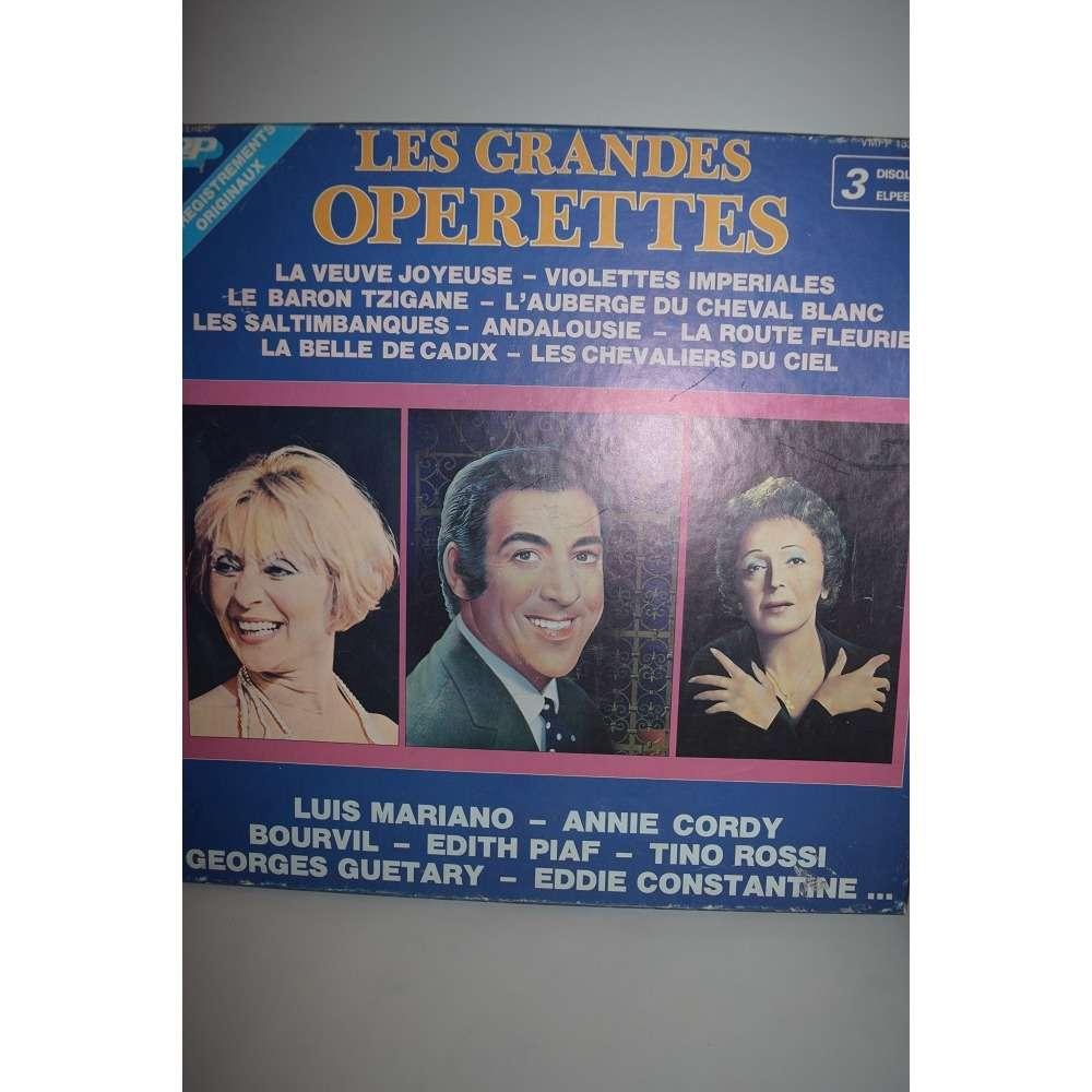l.mariano-annie cordy - bourvil- edith piaf etc... les grandes operettes
