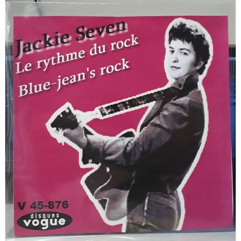 jackie seven Le rythme du rock / Blue-jean's rock
