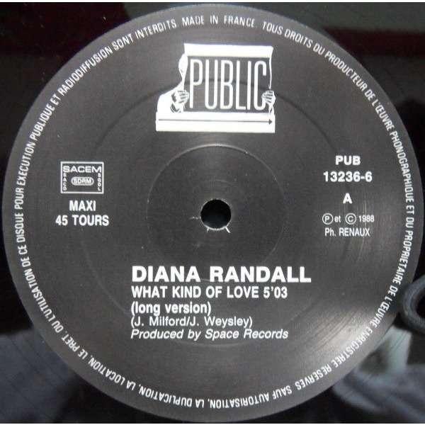 Diana RANDALL what kind of love / instru.