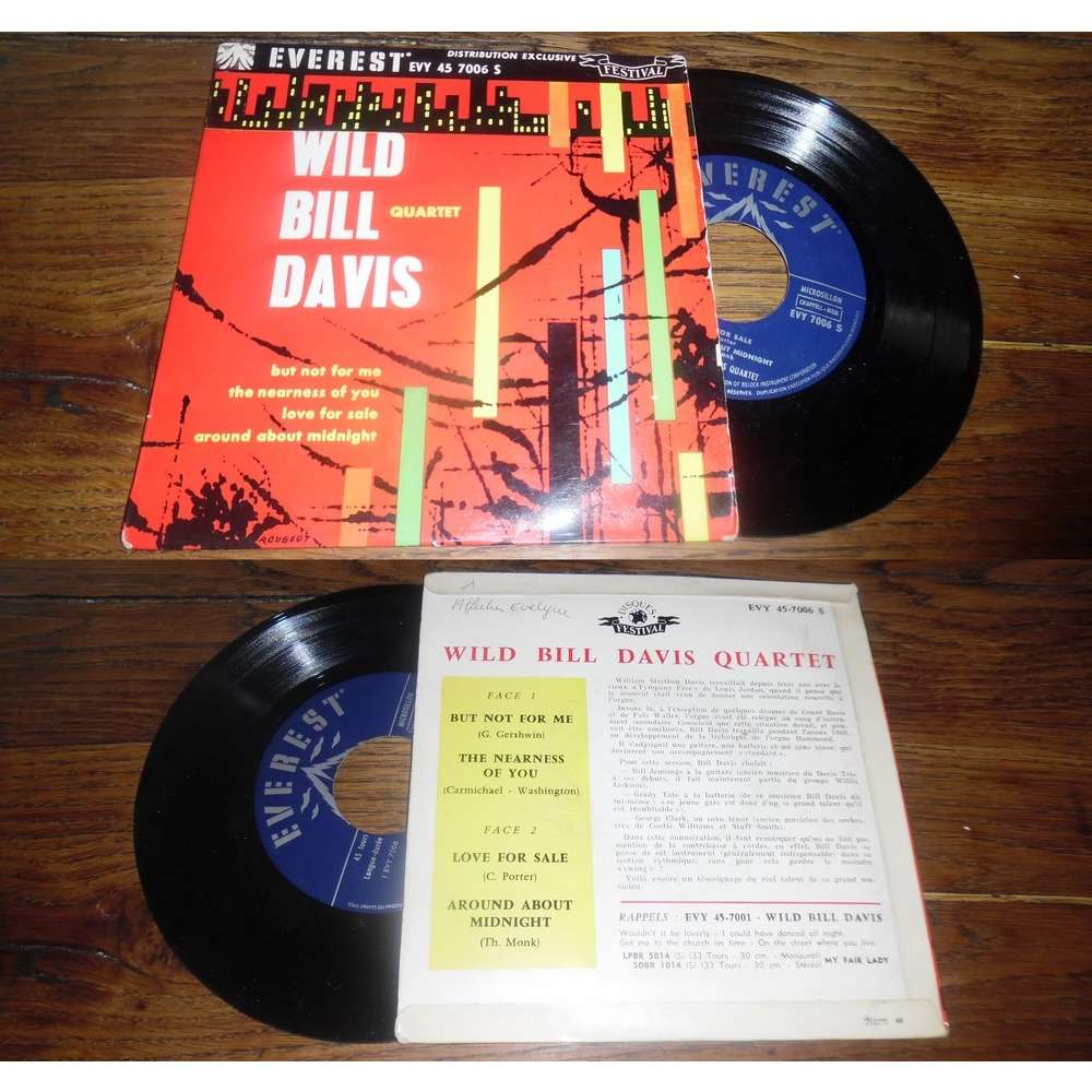 Wild Bill Davis Quartet But Not For Me, The Nearness Of You