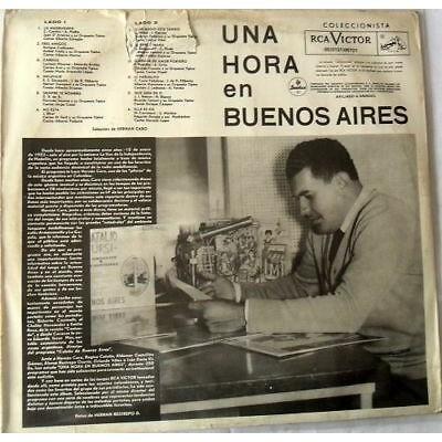 UNA HORA EN BUENOS AIRES-DARIENZO-TROILO-ARCI- UNA HORA EN BUENOS AIRES-DARIENZO-TROILO-ARCI-SASONE-LOMUTO-FRESEDO-DONATO RCA