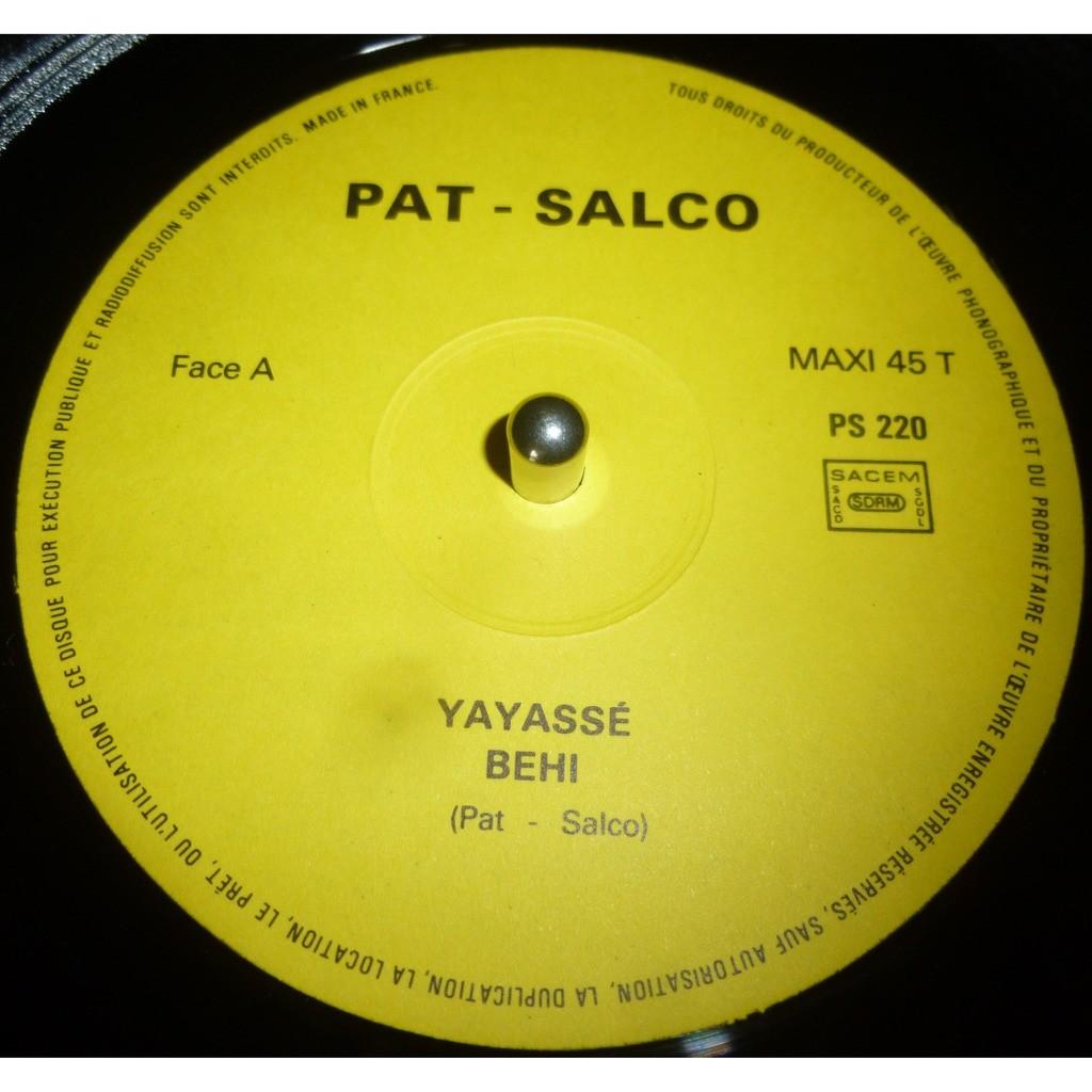 PAT SALCO JR. PAT SALCO JR.